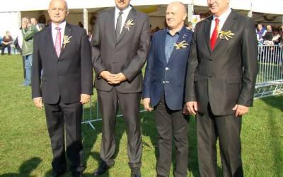 Dożynki wojewódzkie 23-24 sierpnia 2014 Minister Rolnictwa Marek Sawicki