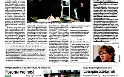"Tragedia ""Halemby"" 28 listopada 2006 z minister Anną Kalatą"