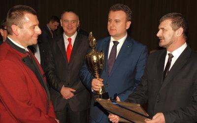 Spotkanie z minitrem Tomaszem Jędrzejczakiem - Toszek 7 lutego 2014 r.
