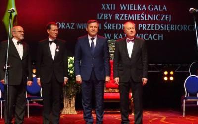 XXII Wielka Gala Izby Rzemieślniczej Zabrze 17 kwietnia 2015r.