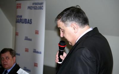 Wizyta Adama Jarubasa – kandydata PSL na Prezydenta RP – w Gliwicach 07.04.2015r.