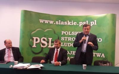 Wizyta Prezesa PSL Janusza Piechocińskiego 3 września  2015 r.