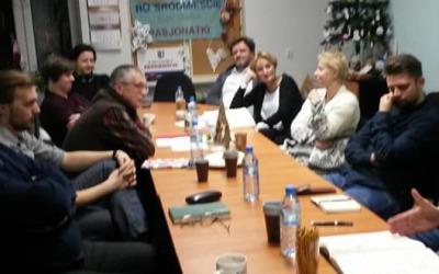 """Nowa ulica Zwycięstwa – koncepcja. Spotkanie zprzedstawicielami firmy """"PROjARCH 13.12.2017r."""